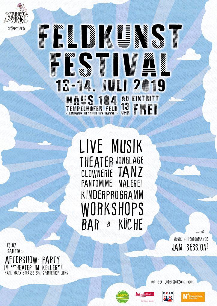 Sonntag 14 Juli Feldkunst Festival 100 Tempelhofer